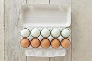 東北牧場の卵「青玉・赤玉」味くらべセット(各5個入り)エコ包装